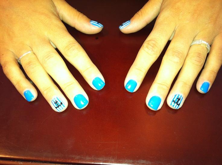 anchor nails #3152studio #sailor