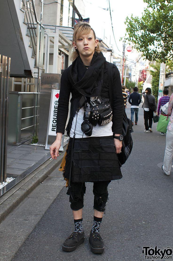 17 Best Images About Japanese Street Fashion Dark On Pinterest Men Street Styles Shibuya