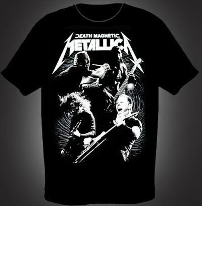 Metallica death magnetic футболка