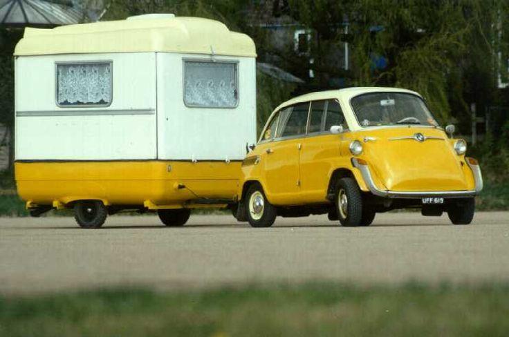 niceThe Roads, Vintage Trailers, Minis House, Vintage Trucks, Roads Trips, Vintage Travel Trailers, Vacations Travel, Vintage Campers, Bmw Isetta