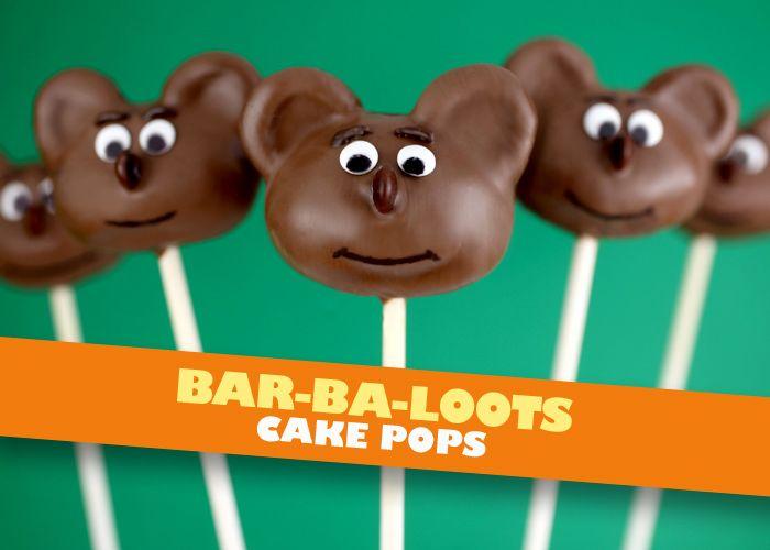 Bar-Ba-Loots Cake Pops by Bakerella