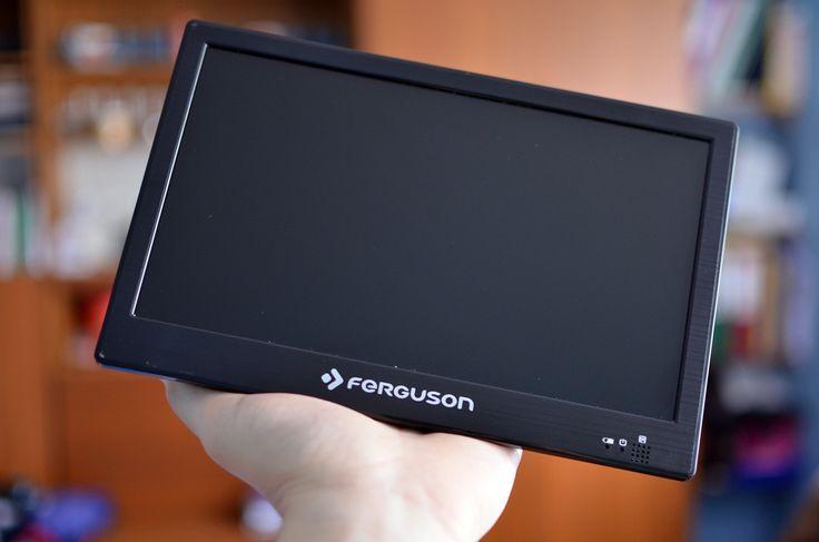Test mobilnego telewizorka #Ferguson PHT-1008. Mały może więcej? #TV #mobile #dvbt