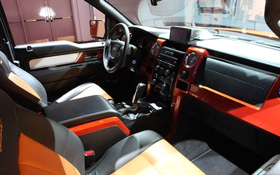 Custom Painted F150 Interior Ford F150 Pinterest The