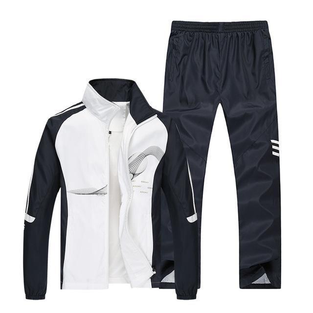 Men's Sportswear Durable jogging suit Leisure collar inner pocket L to 5XL