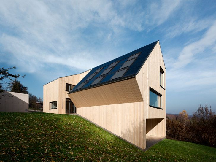 The Velux Sunlighthouse is Austria's First Carbon Neutral Home   Inhabitat - Sustainable Design Innovation, Eco Architecture, Green Building