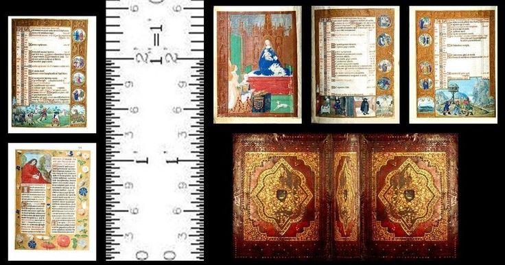 Miniatura Escala 1:12 Livro Breviário Bélgica 1500 Medieval | Bonecas e ursinhos, Casas de boneca e miniaturas, Artísticas | eBay!