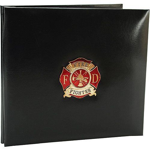 scrapbooking firefighter   Firefighter Postbound Scrapbook: Crafts : Walmart.com