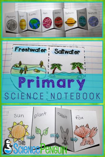 Primary Science Notebook