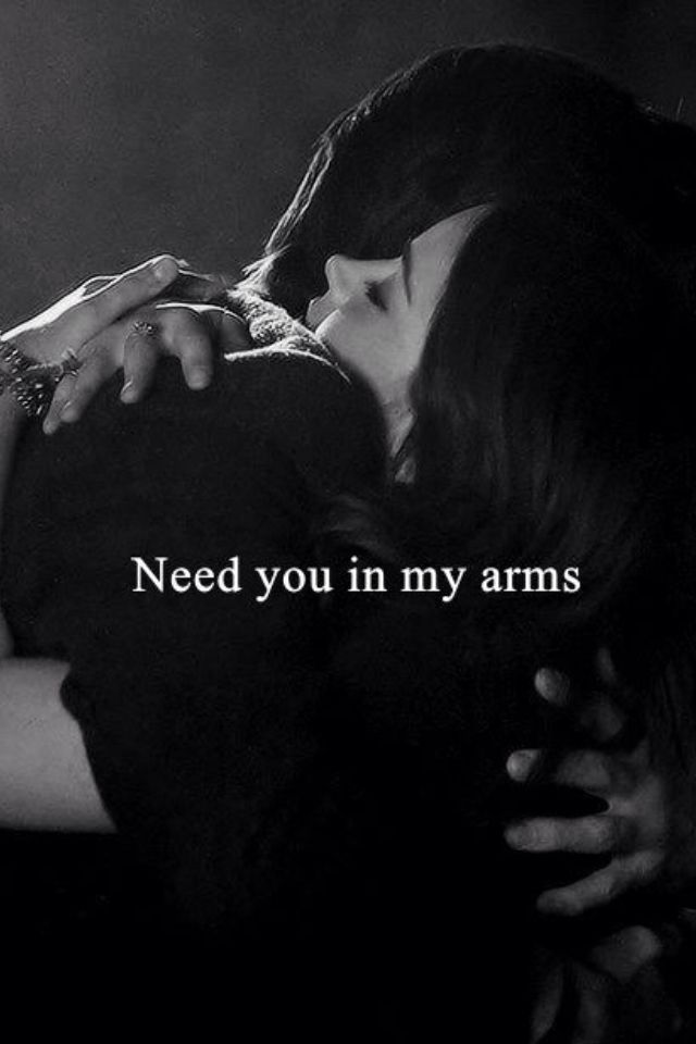 More than anything!!!! Here is a hug from me. I missed you. Please call me tonight if you can. Please don't pull away without telling me