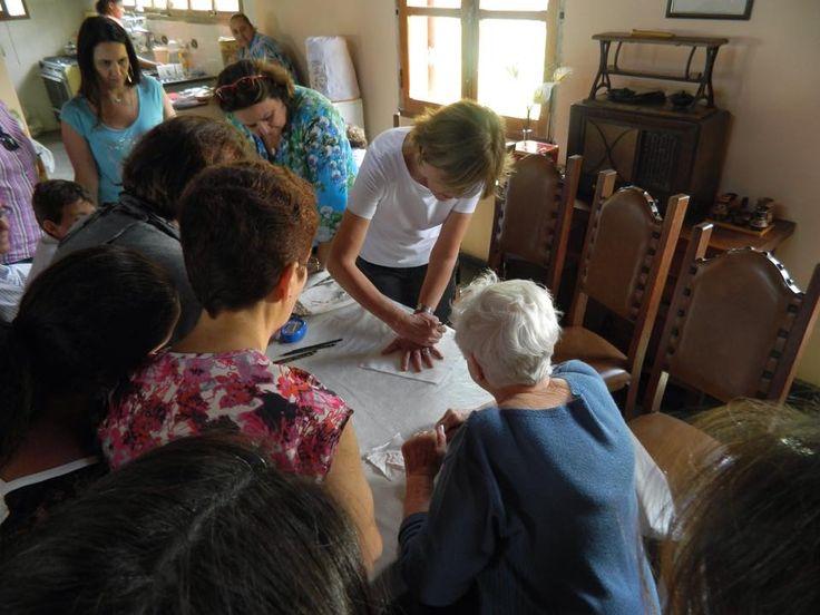 Colcha: Mãos das mulheres  Paraisópolis - Sul de Minas Gerais  Brasil