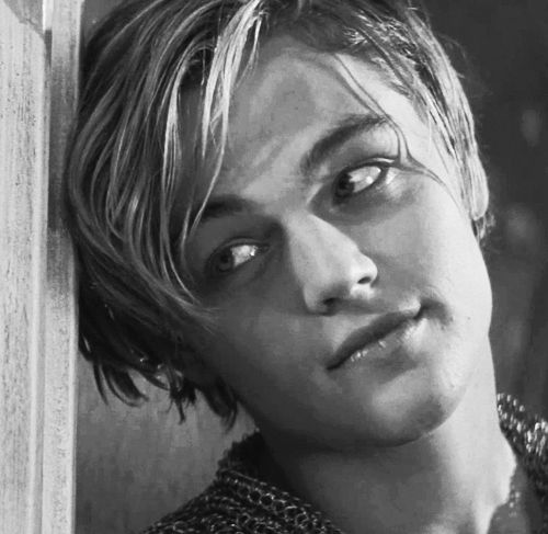 Leonardo DiCaprio in Romeo + Juliet...when every preteen and teen girl fell in love with him.