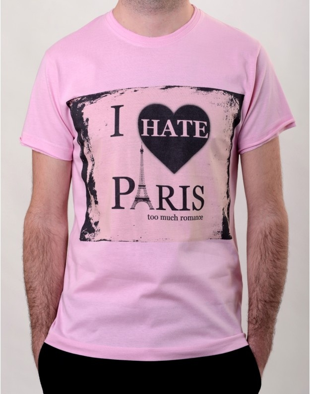 I Hate Paris T-Shirt  http://www.hotncool.ro/barbati/i-hate-paris-tshirt.html