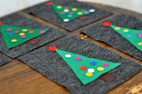 Husmorsskolan: Barnvänligt julpyssel med filt!