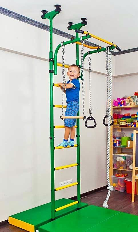 Backyard Gymnastic Rings : Indoor Sport Playground, Gym for Kids Gymnastic Rings, Rope Trapeze