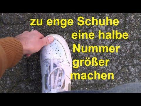 Schuhe weiten eine Nummer größer machen enge Schuhe weiten Schuhe drücken – Y…