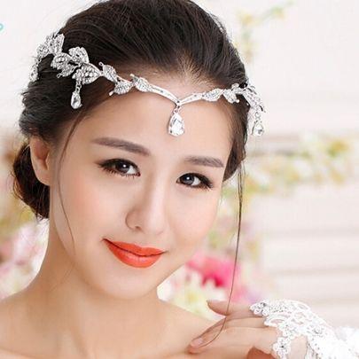 Cheap Wedding Tiaras & Crowns, Ivory Wedding Tiaras Online Sales - Tbdress.com