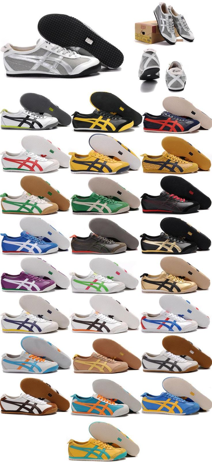 Onitsuka Tiger Mexico 66 1:1 2011 By Asics Casual Shoes (Many Colors)