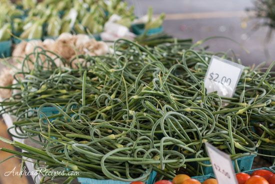 Cannellini Bean Dip w/Garlic Scapes (Andrea Meyers - Garlic scapes at ...