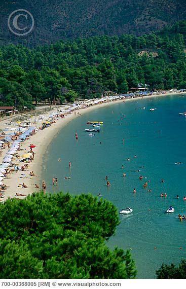 Koukounaries beach, Skiathos, Greece been here! fabo Beach, it was empty when i went!