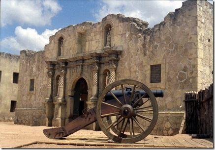 The Alamo Chapel Facade, Alamo Village, Brackettville, Texas - filming site of The Alamo (2004) movie