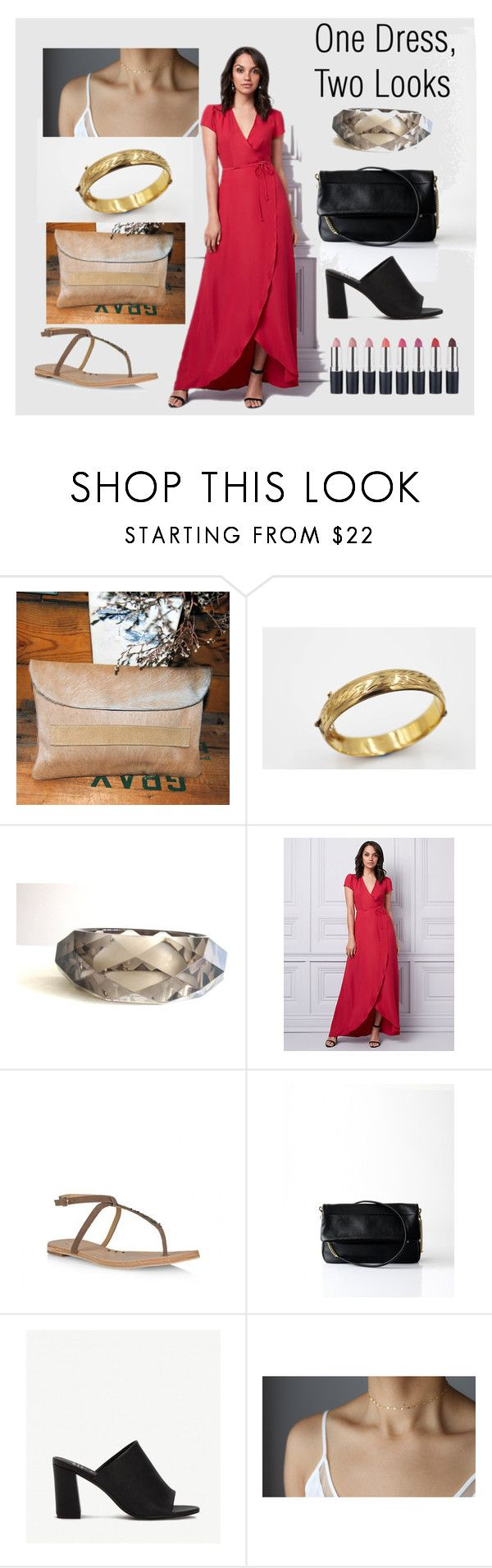 """One Dress, Two Looks"" by mapestomountains on Polyvore featuring Le Chateau"
