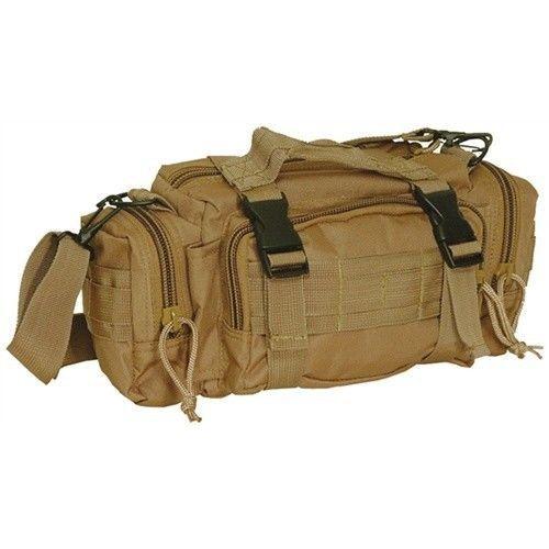 Voodoo Tactical Enlarged 3 Way Deployment Bag Coyote   eBay