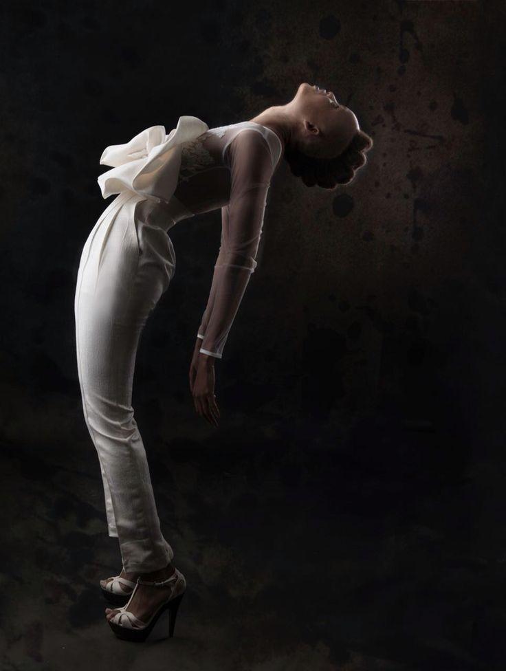 bridal jumpsuit south african designer zodwa bridal