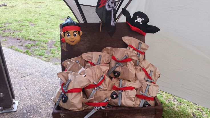 Jake and the Neverland Pirates snack bag