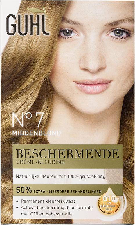 Guhl Nr. 7 Middenblond Beschermende Crème-Kleuring..