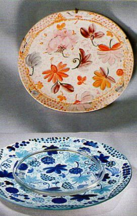"Arabia ""Bella Donna / Blue Lady"" Dorrit von Fieandt (Erdinç Bakla archive)"