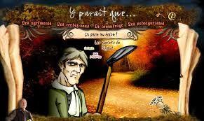 TFO présente des légendes tradionnelles du Canada français (bandes dessinées interactives) dont: La chasse-galerie, La légende du Rocher Percé, Alexis Le Trotteur, Joe Montferrand, etc