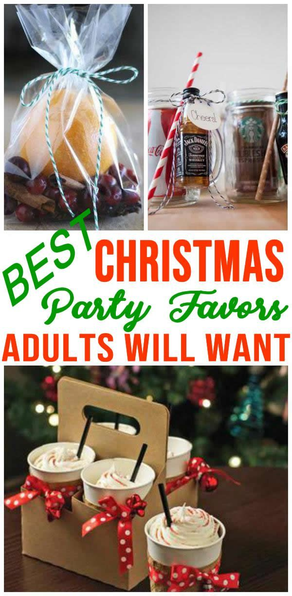 Incredible Party Favors Adults Christmas Party Favor Ideas That Are Easy And Fun Goodie B Christmas Party Favors Party Favors For Adults Holiday Party Favors
