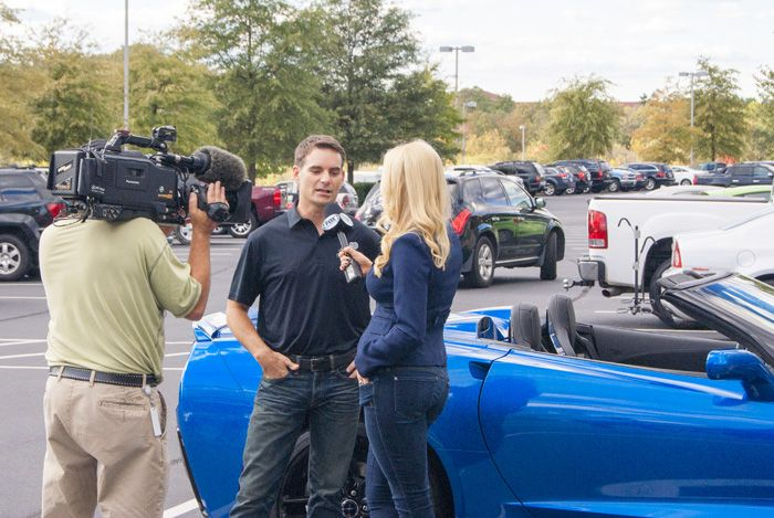 Jeff Gordon Charity Corvette Auction