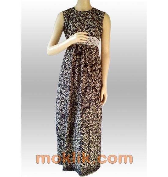 Long dress batik terbaru, terbuat dari kain batik tulis