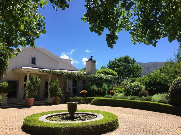 Spectacular day out in the Constantia Winelands shooting this luxury Villa