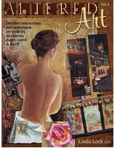 Altered art 4 - Maica Dos - Álbuns da web do Picasa...THIS IS A FREE BOOK with lots of painting instruction!!