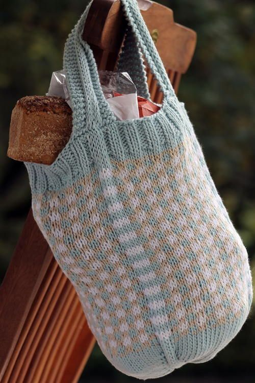 76 best How to Knit a Bag images on Pinterest | Places to visit ...