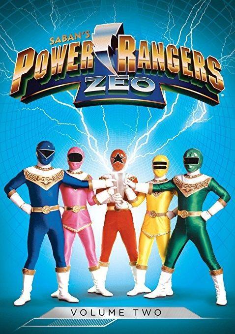 Catherine Sutherland & Nakia Burrise & Terence H. Winkless-Power Rangers: Zeo, Vol. 2