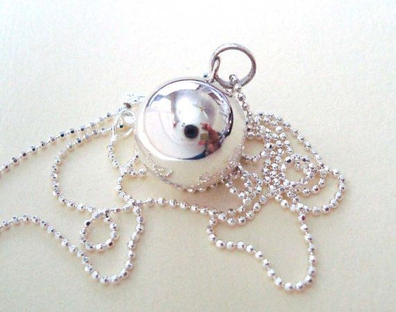 Sterling Silver with Harmony  ball Chain
