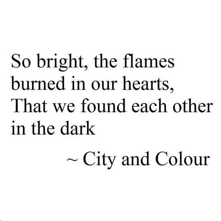 City and Colour Lyrics