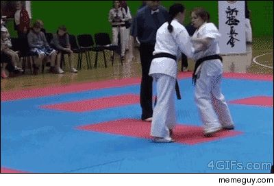 Funny martial arts meme... Fyi that kind of stuff doesn't really work well in real life situations, but it sure does look cool!