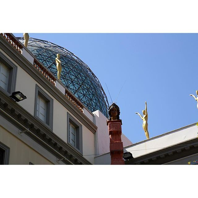 The Dalí Theatre and Museum, Figueres, Spain. - http://great-trips.com/the-dali-theatre-and-museum-figueres-spain-7.html?utm_source=PN #Barcelona, #Catalunya, #Cp, #Dalimuseum, #Greattrips, #Museum, #Spain, #барселона, #дали, #испания, #каталония