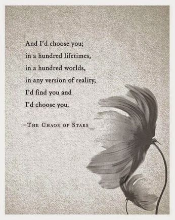 Yes it is true. These lines sum up my feelings..