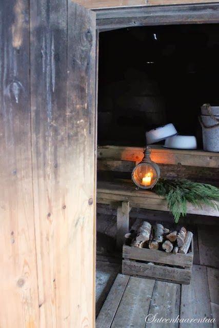 A piece of Sauna #serenityathome