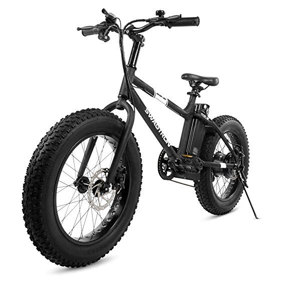 swagtron eb 6 youth fat e bike 350w motor power assist 4 tires E Block Battery swagtron eb 6 youth fat e bike 350w motor power assist 4 tires 20 wheels removable 36v lithium ion battery dual disc brakes electric bike 7 speed