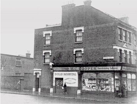 The dolls hospital, West Green and Lawrence Road, Tottenham, London