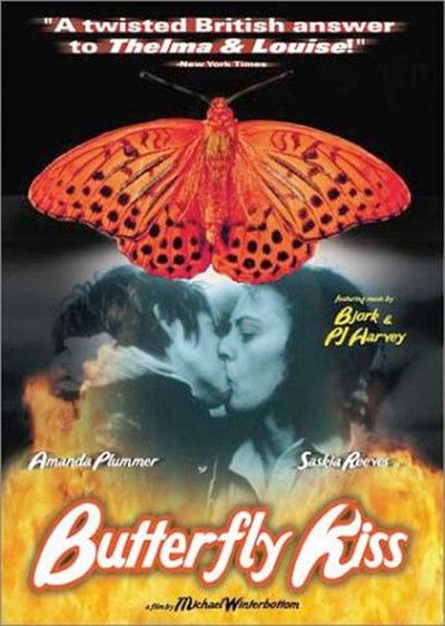 Butterfly Kiss, starring Amanda Plummer, Saskia Reeves and Katy Murphy, 1995