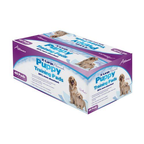 Allmax Premium Puppy Training Pads 275Inch by 355Inch XLarge 40Piece ** Check this awesome product by going to the link at the image.