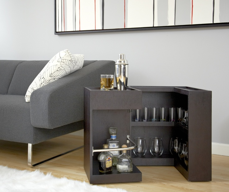 Sandy Side Table by Eurostyle! Great use for this compact end table!