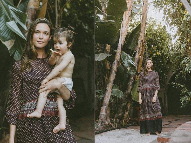 Odette Annable and Charlie Mae | DÔEN | www.shopdoen.com